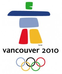 Logo der Olympischen Winterspiele 2010