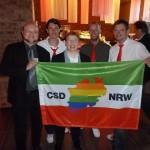 NRW-Regenbogen-Flagge